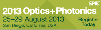 Optics+Photonics 2013