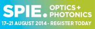 SPIE OPTICS + PHOTONICS