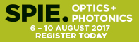 SPIE OPTICS + PHOTONICS 2017
