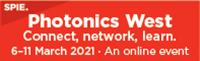 SPIE PHOTONICS WEST 2021